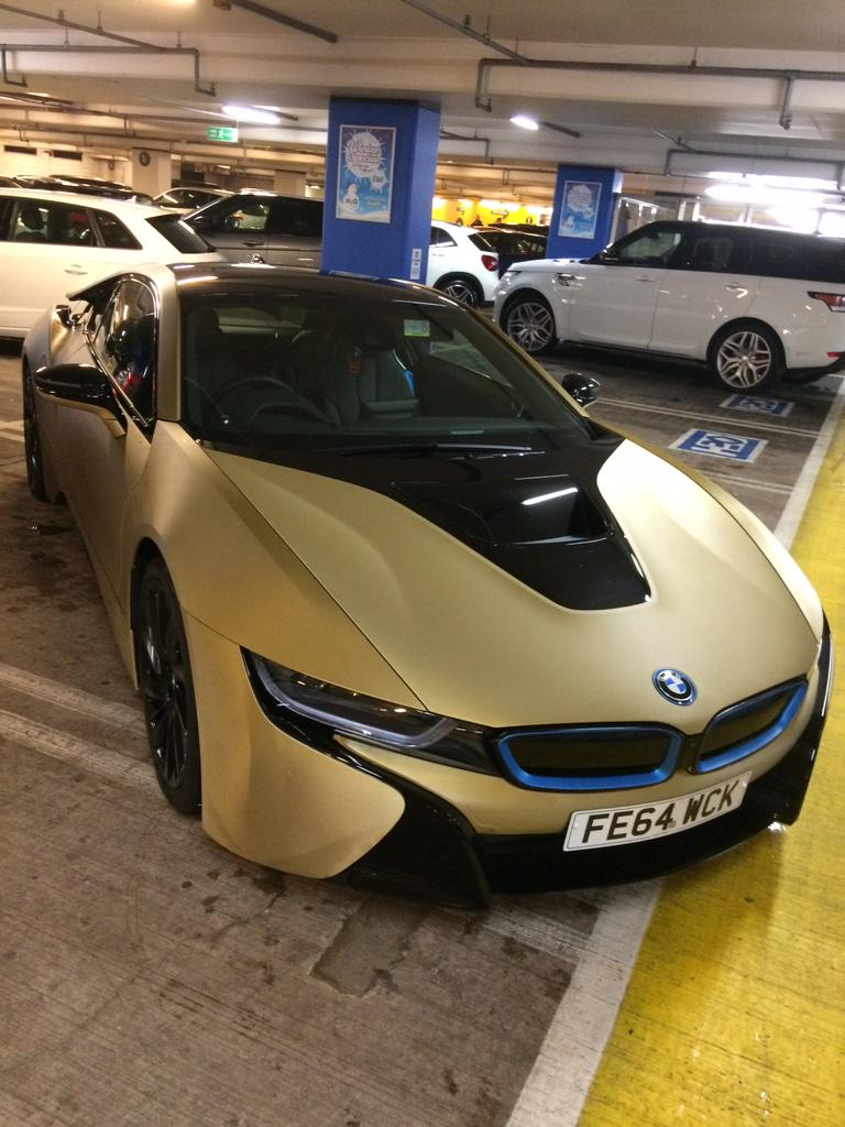 My Name Is Daniel On Twitter Matte Gold Bmw I8 Http T Co