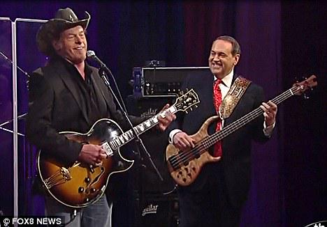 ted nugent mike huckabee