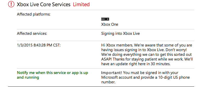 microsoft xbox customer service phone number