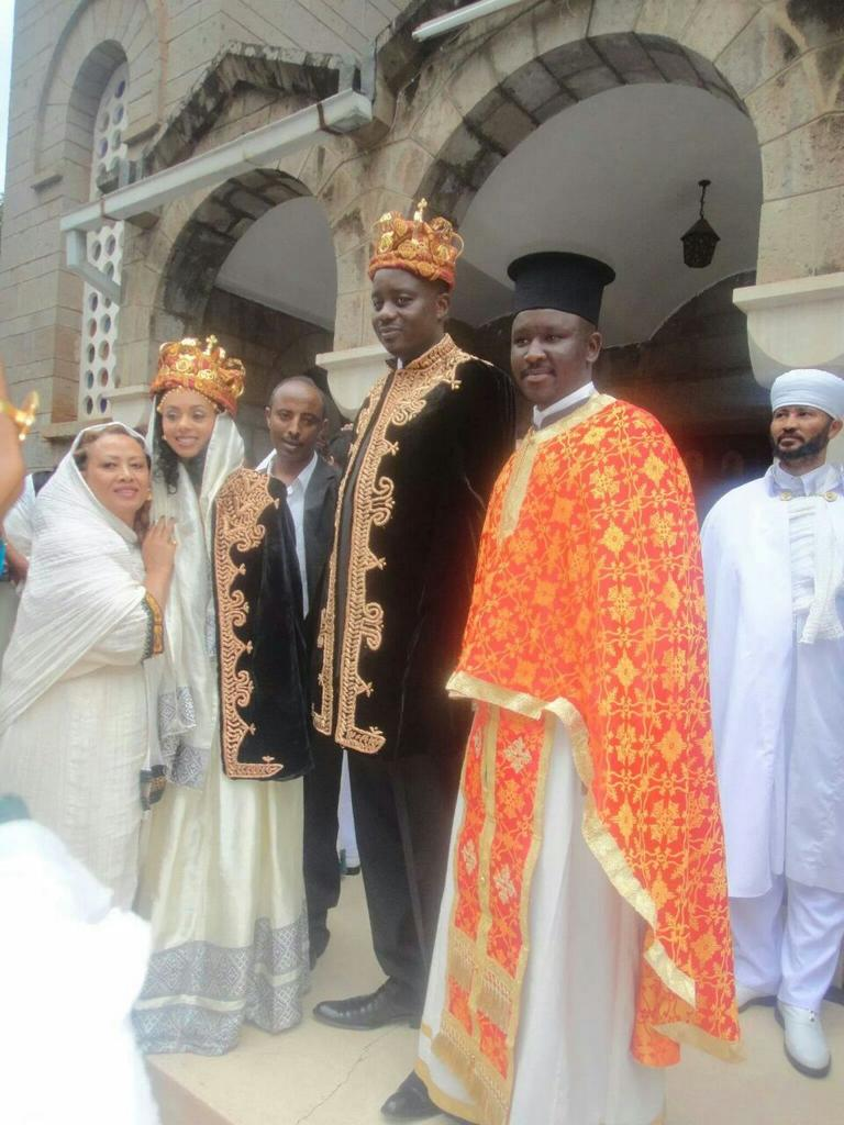 #RIPFidelOdinga  During his wedding with his Eritrean wife. http://t.co/akaz4yylZu