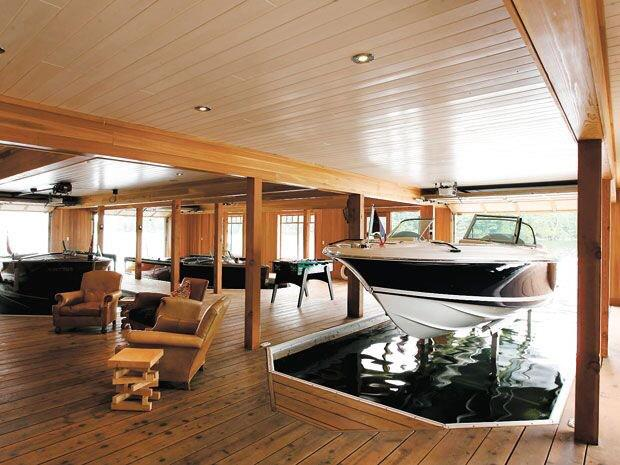 Billionaires On Twitter Boat Garages Are Awesome Http T Co