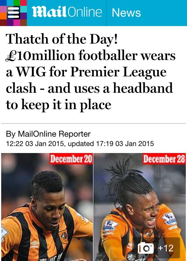 """Oh bless ... Not a single person at Mail Online has heard of """"braids"""". BRAIDS. Poor things. http://t.co/LzsQEqdIFd http://t.co/xPp85jQy4n"""