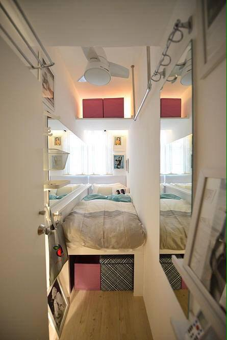 In Hong Kong this counts as an upscale furnished apartment. It goes for 3,000 HKD per month, located in Sai Ying Pun. http://t.co/iyL6JpPqT9
