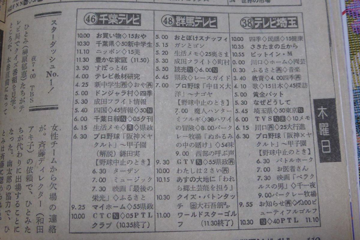 テレビ 欄 姫路