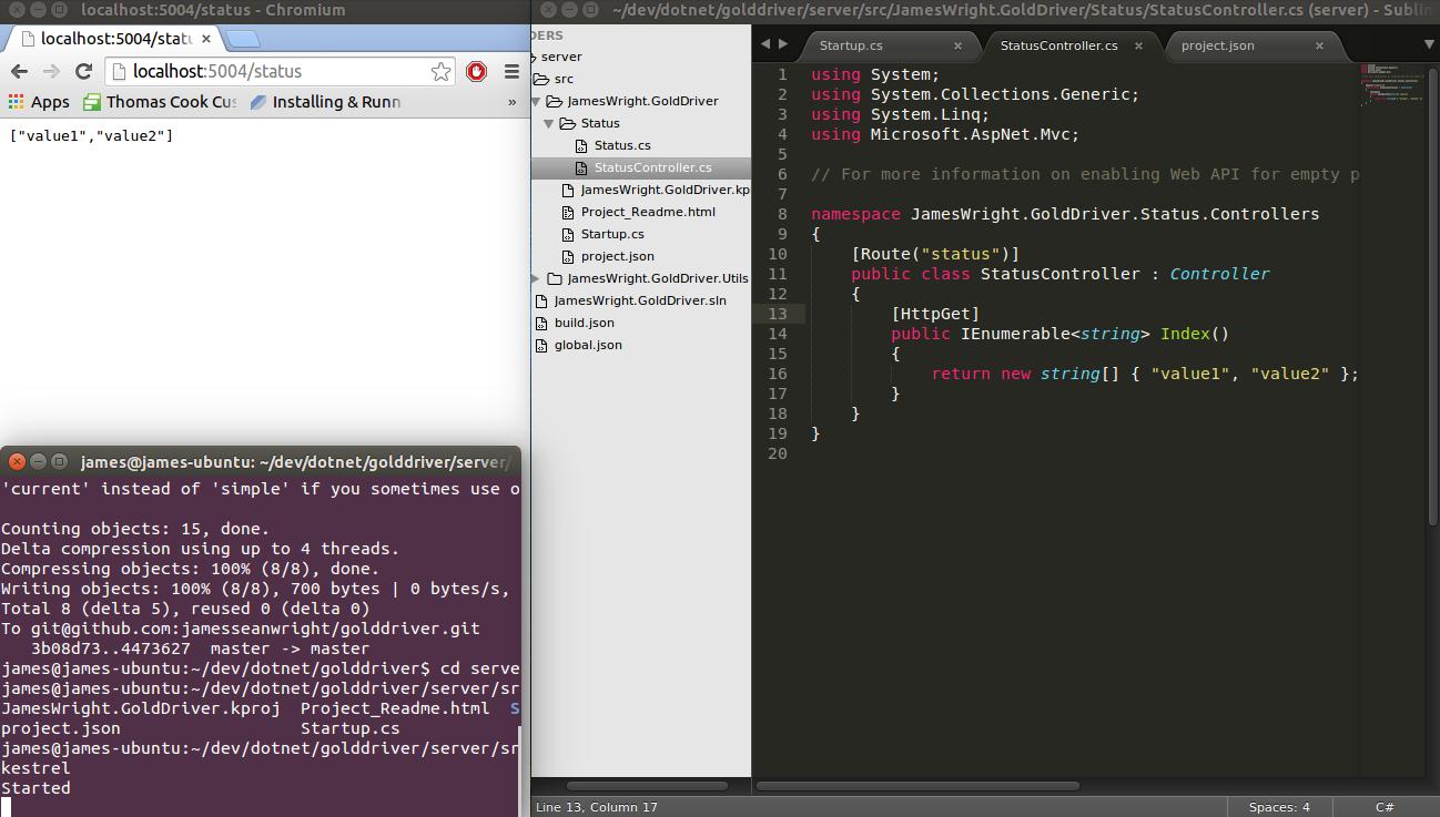 ASP.NET vNext on Ubuntu
