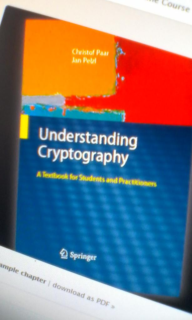 understanding cryptography a textbook for students and practitioners