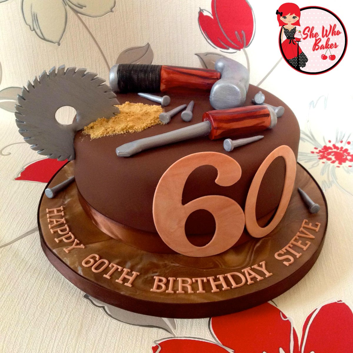Miraculous Britt Box On Twitter Diy Themed 60Th Birthday Cake With Personalised Birthday Cards Sponlily Jamesorg