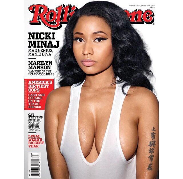 Nicki Minaj nua na revista Rolling Stone