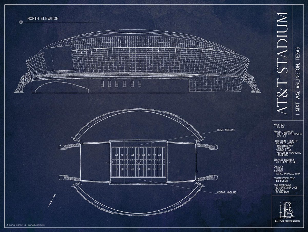 Ballpark blueprints on twitter rt for a chance to win att stadium ballpark blueprints on twitter rt for a chance to win att stadium print from httptnvknufqtpx if the dallascowboys win today malvernweather Gallery