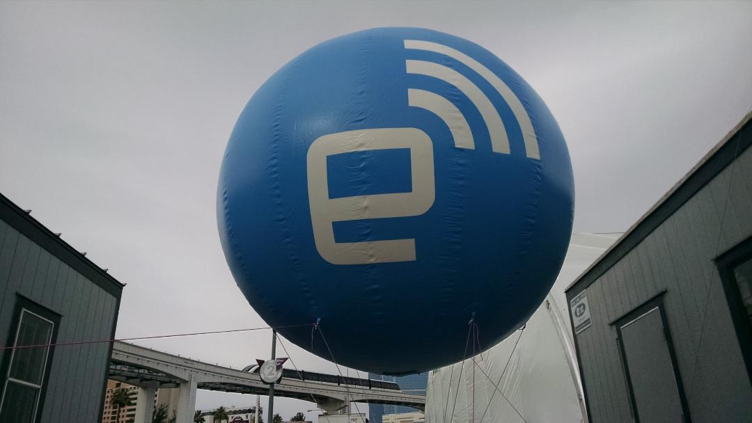 The Balloon has landed! http://t.co/Rnd6XbBWLk