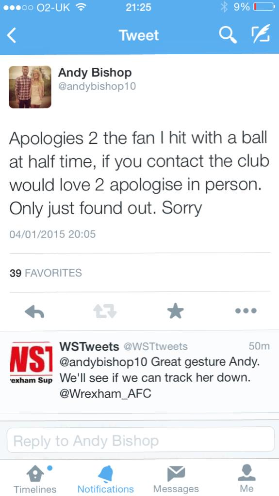 @andybishop10 is a private account,so not many fans will see this..so can anyone help him out plz http://t.co/8ul8mEiNKV