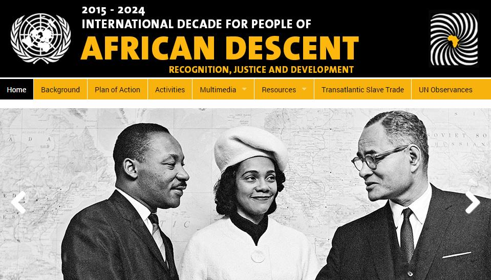 UN International Decade for People of African Descent 2015-2024 http://t.co/4fxrhyehH8 @WSSURAMS @wssualumni http://t.co/qREAOeJH5b