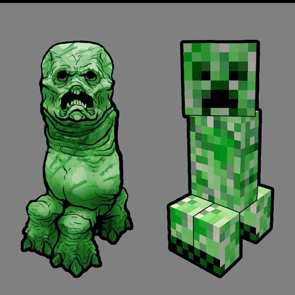 Creeper in real life - photo#14