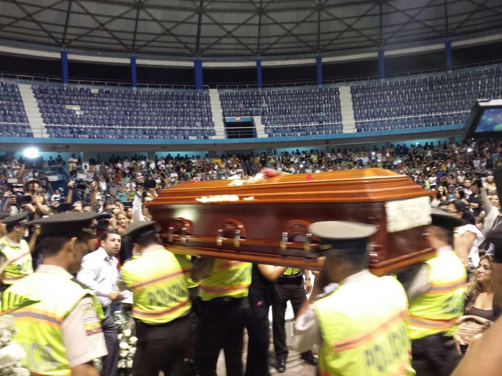 Funeral de Sharon Edith Bermeo