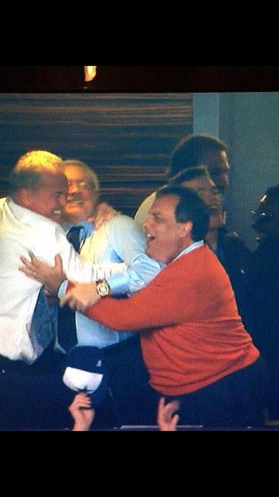 Jerry Jones rumored to be Chris Christie's new First Lady in 2016 Presidential Election http://t.co/bT7gpBpLhw
