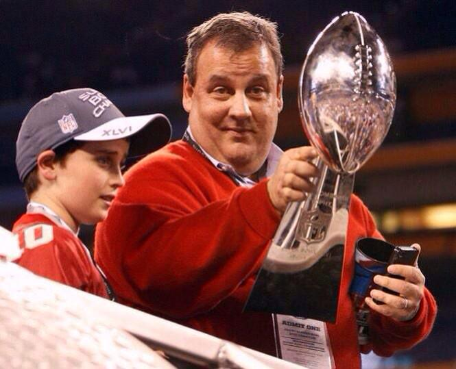 @CindyBoren  Christie in 2012 when a team that plays in his state won SB. http://t.co/Lh88W3Lcdl""