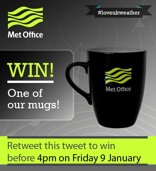 Got the back to work blues? RT to WIN a Met Office mug! T&Cs at http://t.co/y21XqHxDTp #loveukweather http://t.co/GnKVTOD25c
