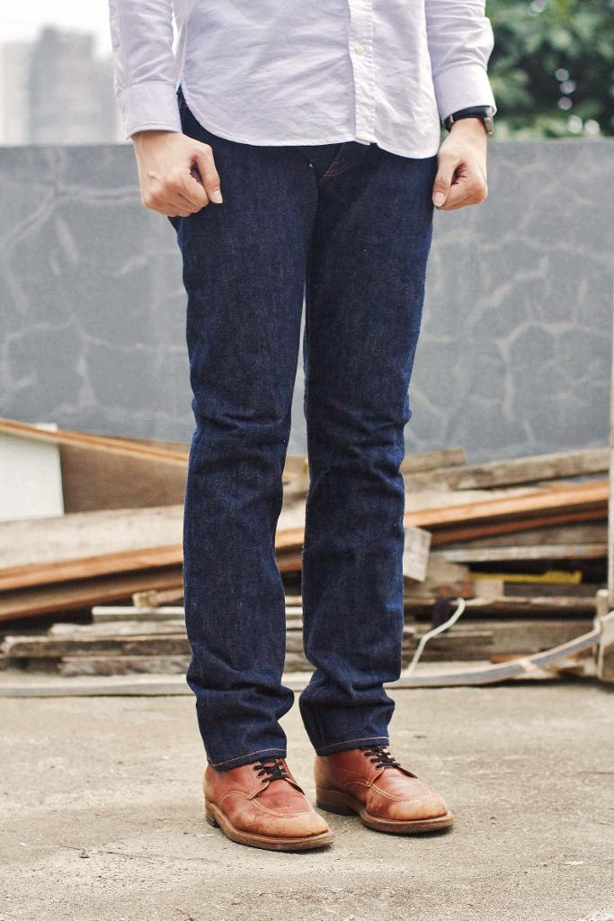 "Oldblue19 Oz Indonesian Selvedge is also available in our signature 7.5"" Slim Cut. IDR 1450k. http://t.co/EimWShF1Kc"