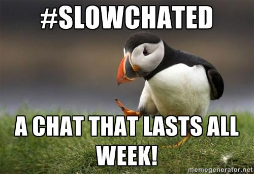 Join #SlowChatEd this week. Q1: What tech do you wish for in your classroom in 2015? #EdTechWish http://t.co/7V3uCbFWu4