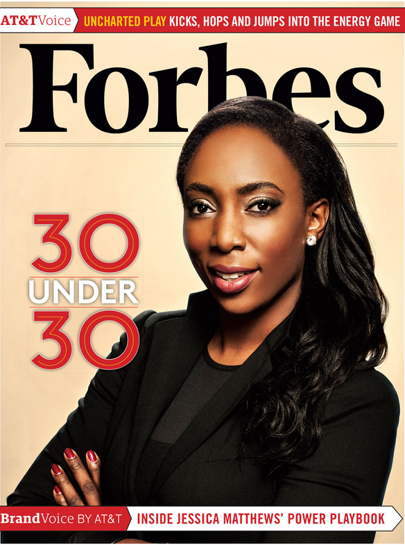 Check out our CEO Jessica O. Matthews on the cover of @Forbes! Read the feature now http://t.co/Y6jaBBrKDp http://t.co/fGmXpoptjO