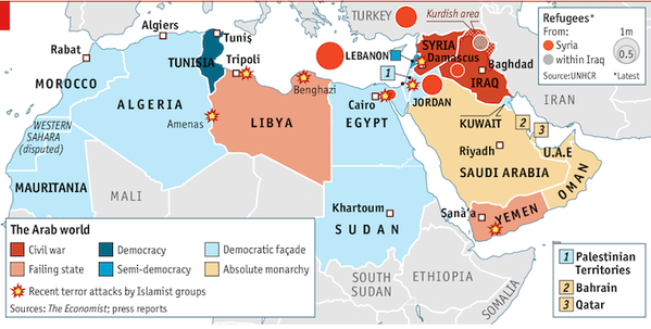 Amir Jalal On Twitter Dreadful Map Of Current Situation In The - Map of egypt libya and sudan