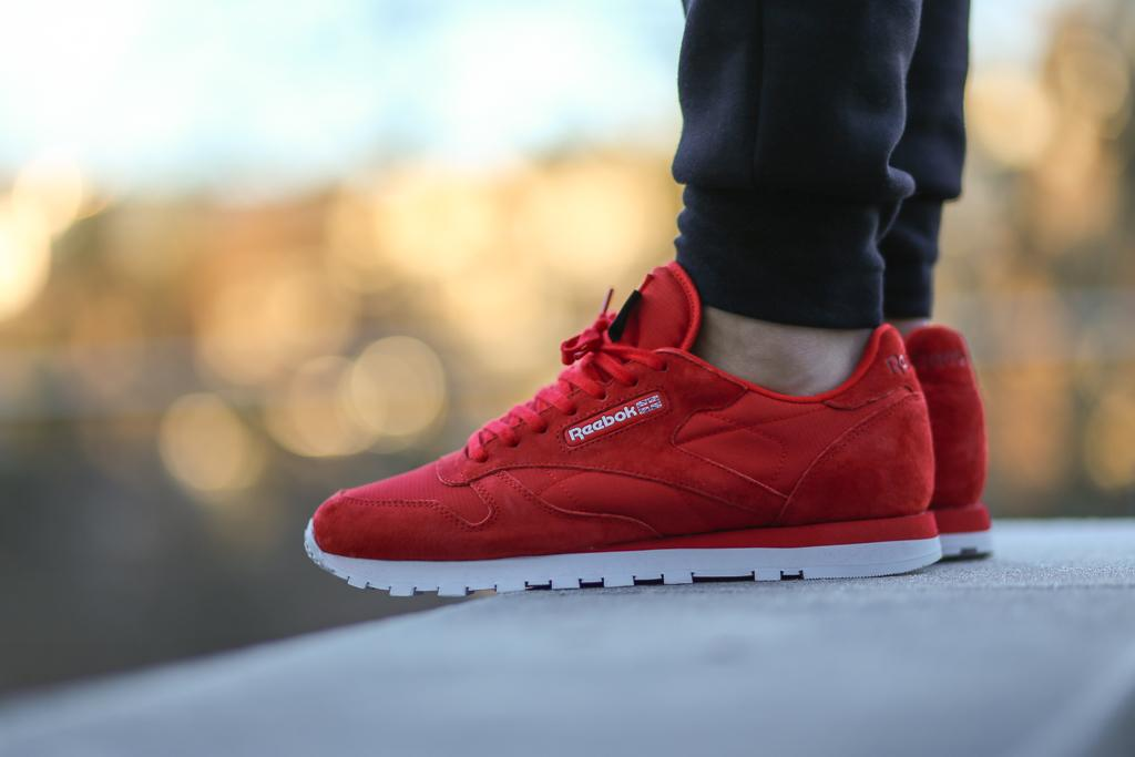 Reebok Classic Leather Cordura Red Rush White Via  Tenisufki.eu TITOLO on  Twitter  ... d7eda1393