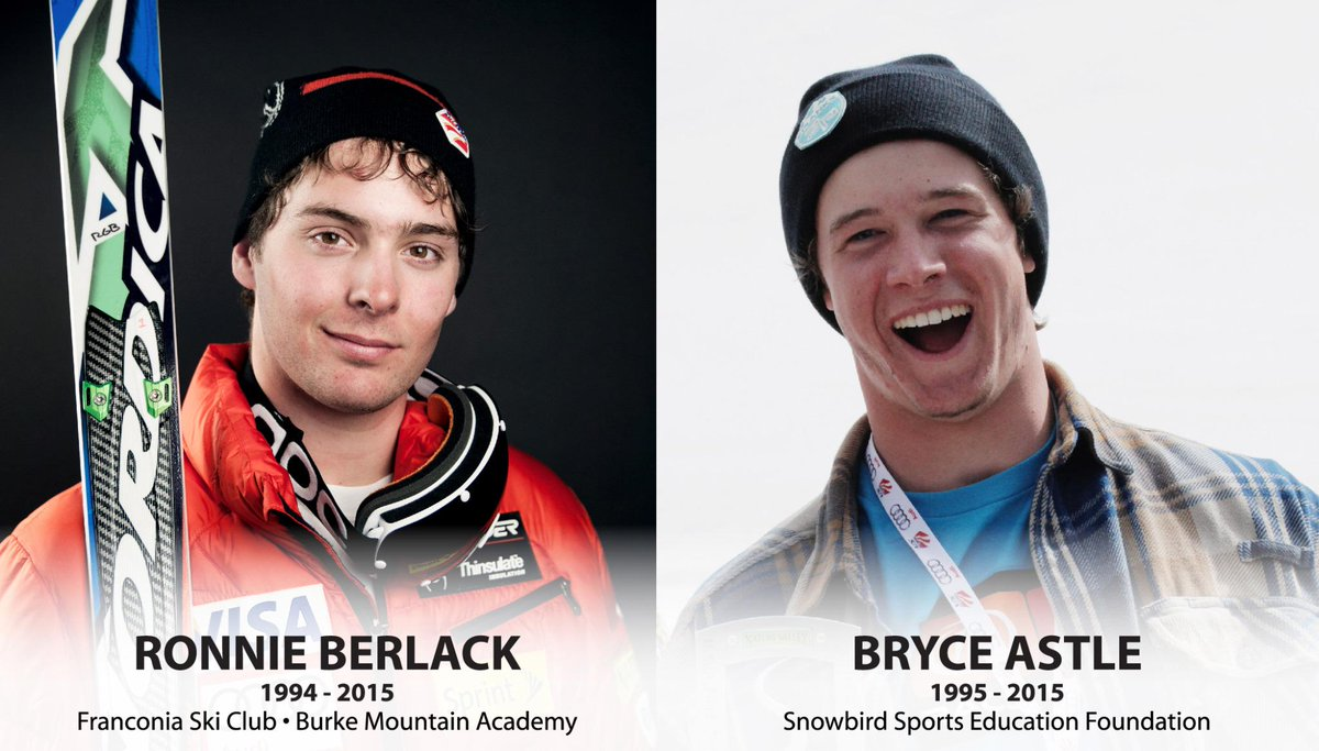 Sad news. RT @usskiteam: The ski racing community is mourning the loss of two young racers. http://t.co/Mf6jvLCh62 http://t.co/nU6vcI4RRL
