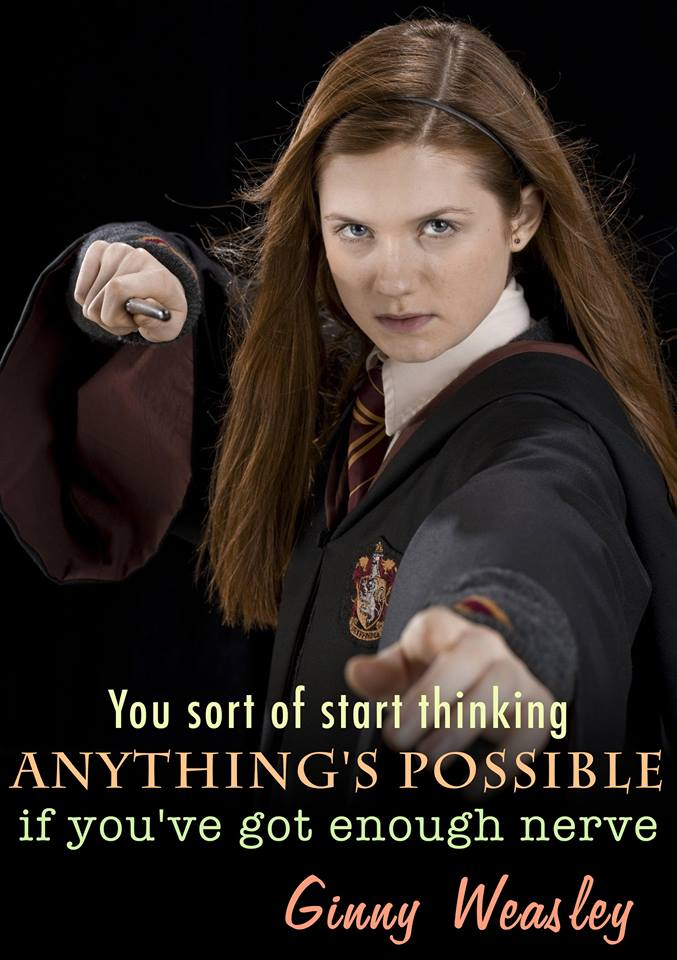 amightygirl on great quote from harry potter s ginny