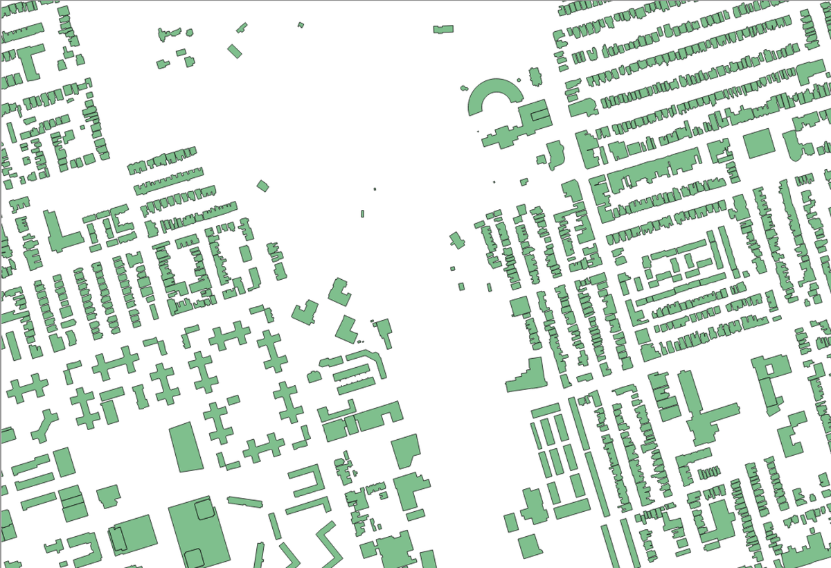 Wow. City of Toronto just released all building outlines for the city as Open Data. NICE! http://t.co/N0smtBv1Cb http://t.co/2LKPsP0tAx