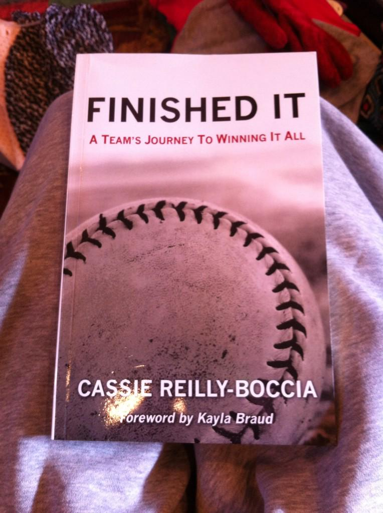 Finished @CCReiBo's book. It made me laugh, cry, & miss playing from the memories. A MUST read if you play softball!! http://t.co/BD5WKp6fQW