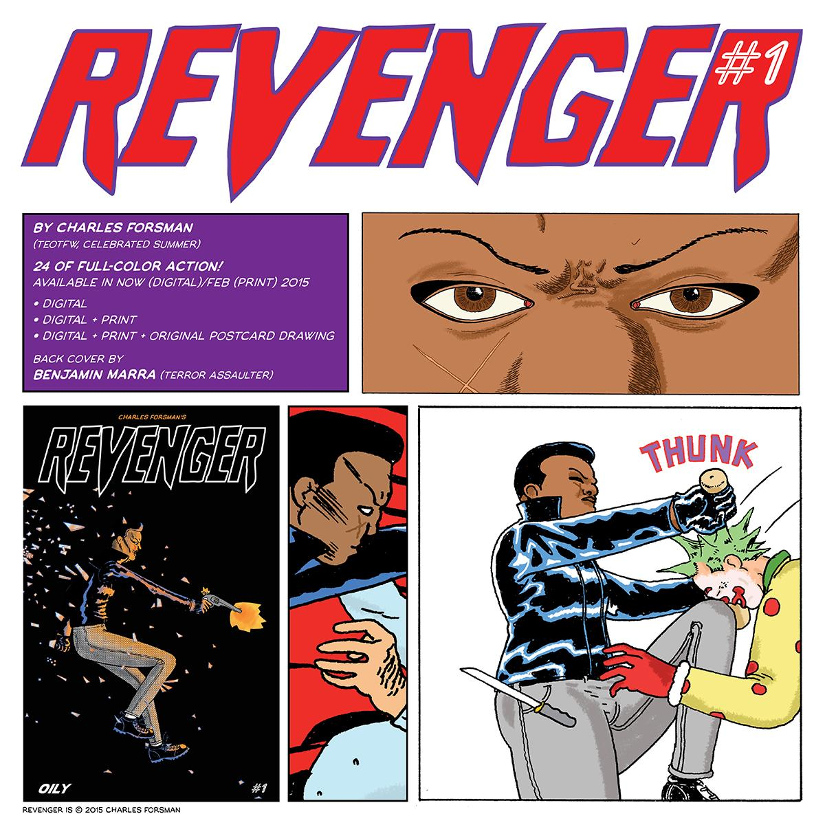 Revenger #1 is now for sale. Digital now and Print coming next month. RT til your butt hurts https://t.co/4duHcdratz http://t.co/XDz4LICYUG