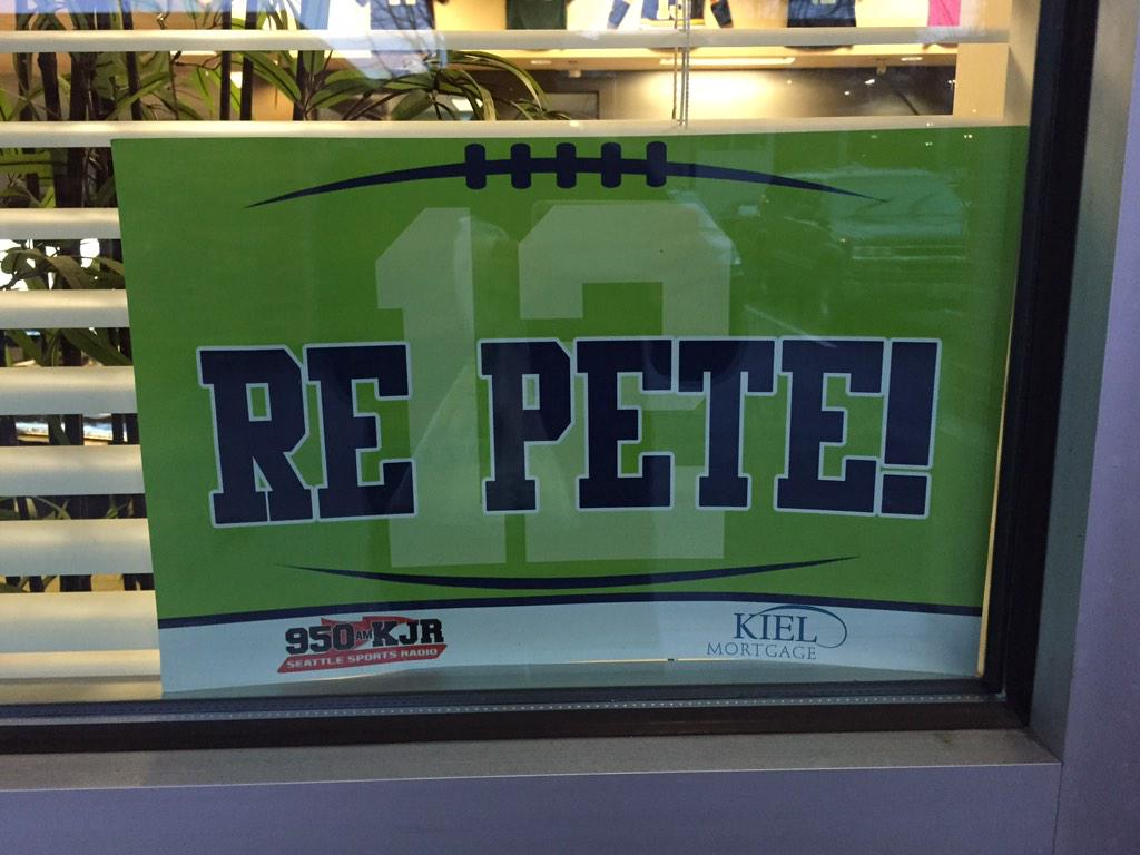 Just saw this outside the #tagboard offices! #gohawks #seahawks http://t.co/8wpv8cjXiX