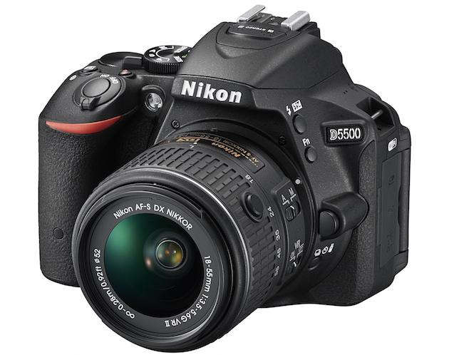 Nikon's D5500 is its newest entry-level DSLR camera