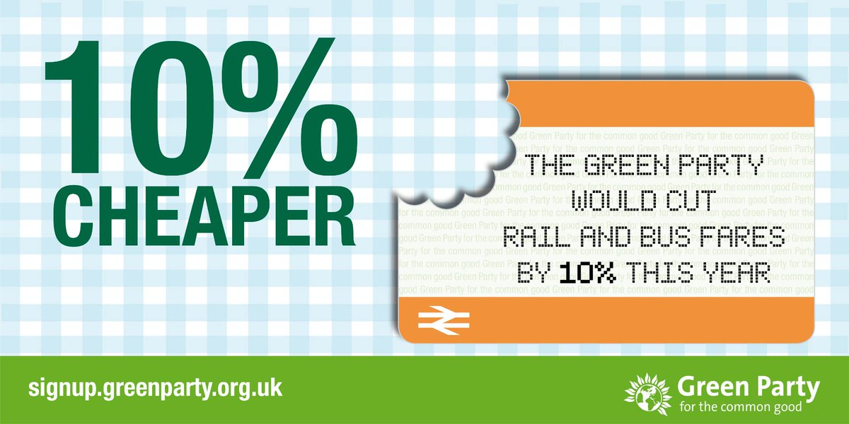 .@TheGreenParty would cut #rail & #bus #fares by 10% by scrapping most new roads http://t.co/NaOf7QaHx5 Please RT http://t.co/iJ2fEhJzbs