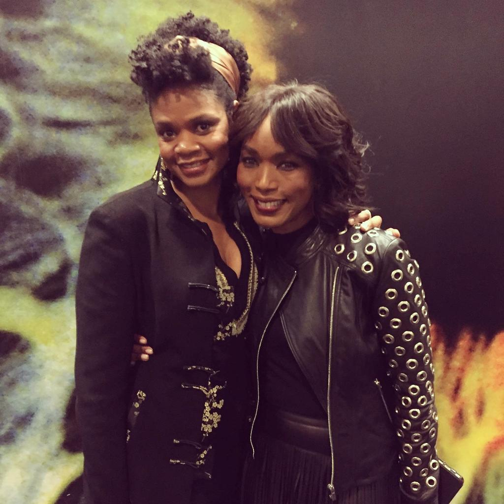 W my amaz sis-friend @ImAngelaBassett @ screening of her directorial debut #Whitney Bravo AB! @lifetimetv 1/17 http://t.co/W84ZZ5t1BV