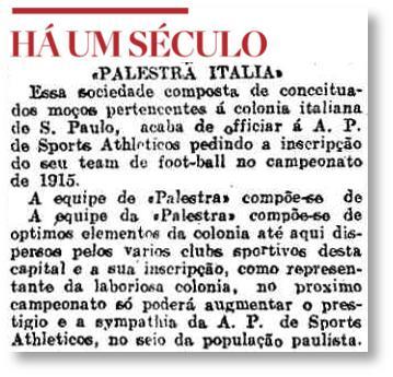 Há um século: 'Palestra Italia' pede para participar do Campeonato Paulista http://t.co/4ZiHc38p5L @anterogreco http://t.co/lSvIJ28oqM