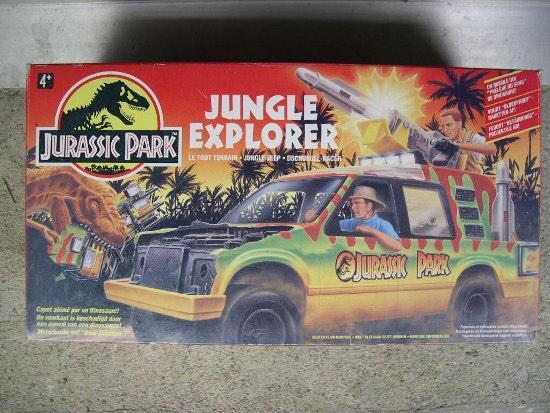 The Jurassic Park Toyline - Magazine cover