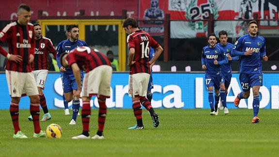 Risultato Milan Sassuolo video gol highlights