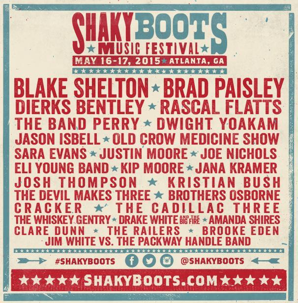 Shaky Boots Altanta GA 2015