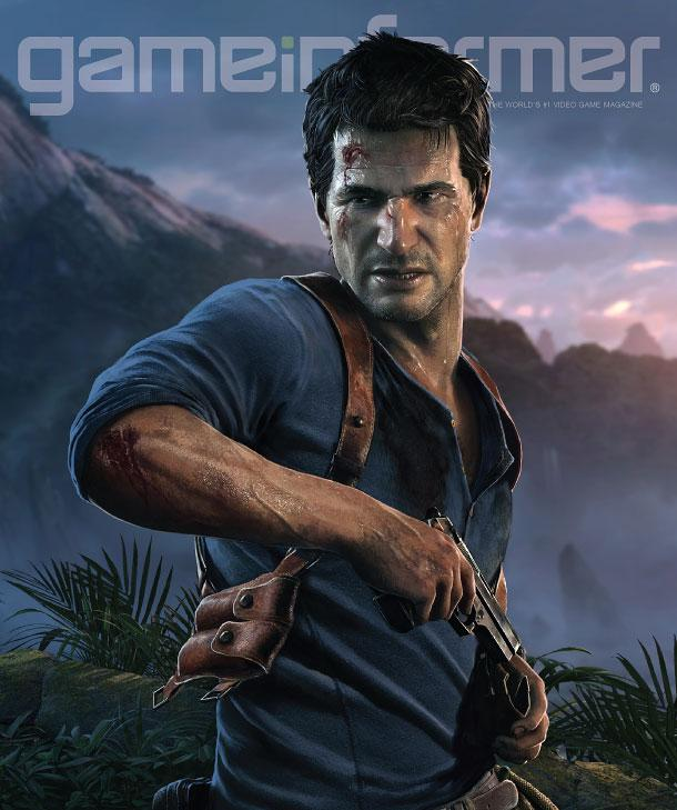 February Cover Revealed — Uncharted 4: A Thief's End - http://t.co/QVlzOtihVB http://t.co/nP9MbUf9r9