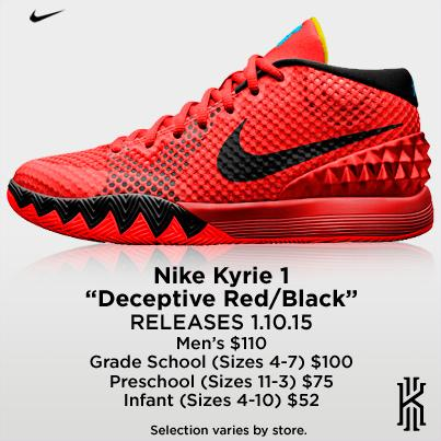 kyrie shoes hibbett sports