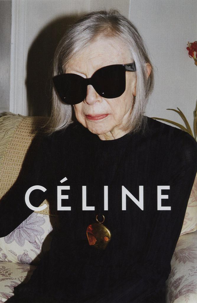 @StyleTrendMX: Joan Didion en la nueva campaña de Céline.