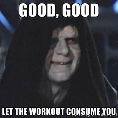 The Star Wars Culture: Star Wars Workout.