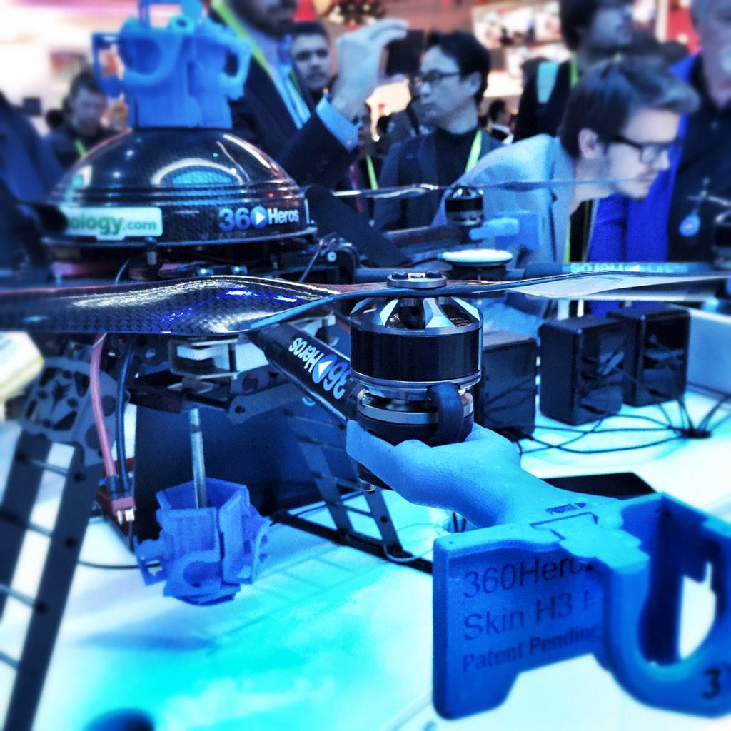 Camera #Drone from @360Heros uses Thunderbolt technology & Intel Core Processors for photo stitching. #CES2015 http://t.co/CCFLESKQ3X
