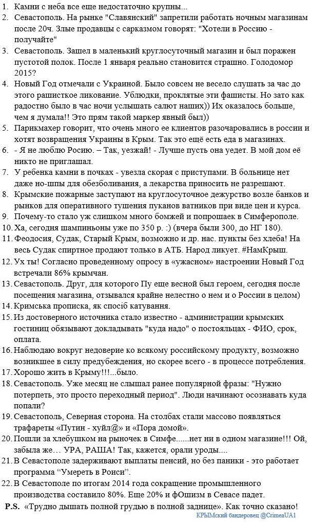 В оккупированном Крыму отменена сертификация украинской продукции - Цензор.НЕТ 1658