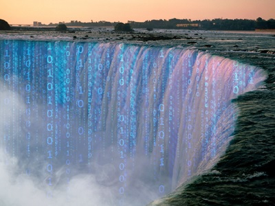 Big Data waterfall