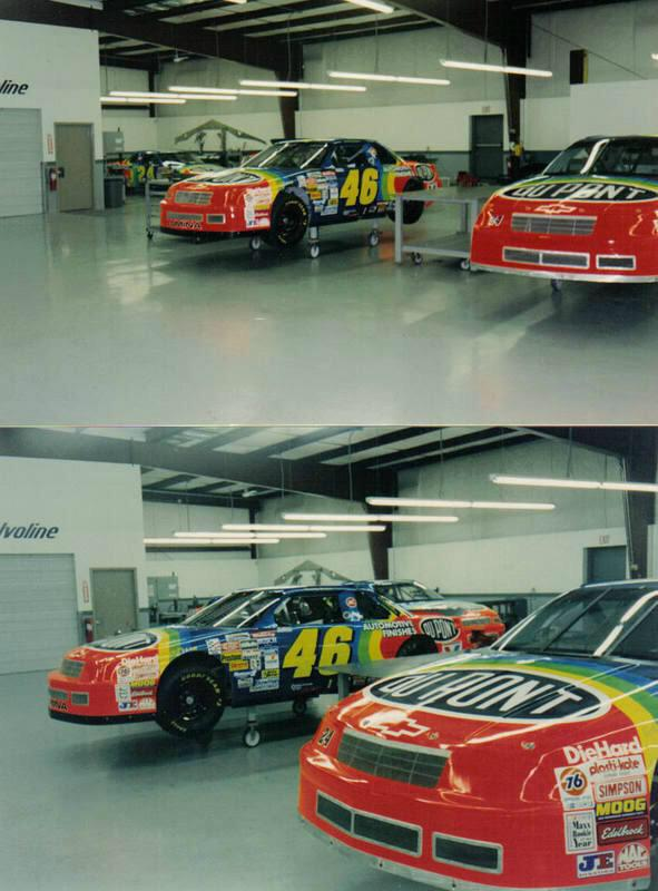 Jeff Gordon nearly drove the No. 46 car if not for 'Days of Thunder'