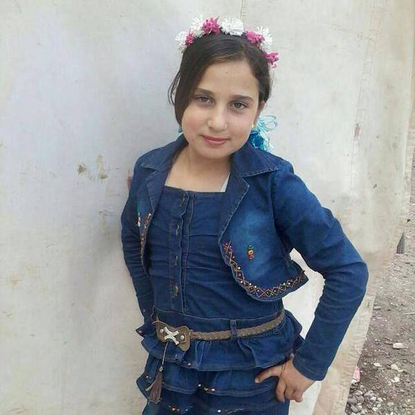 Heba Abdel-Ghani, a 10 year old girl from Homs, died due to extreme cold in a refugee camp in Bekaa Valley, Lebanon. http://t.co/nTDH6EEgN9