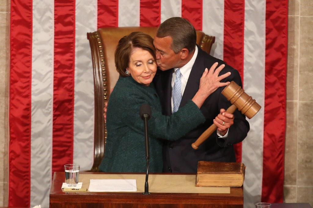 Which Republicans voted against Boehner?