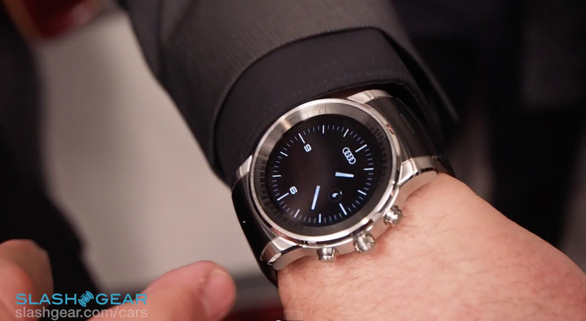 Exclusive: This is @Audi's custom car-controlling LG smartwatch [Video] #CES2015 http://t.co/dXmjTr9wsn http://t.co/HiIJFZHZOo